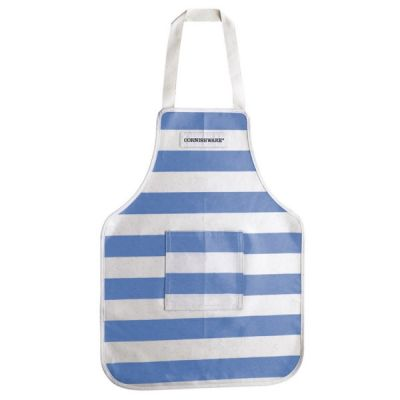 Blue & White Stripe Child's PVC Apron