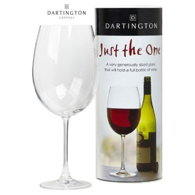 """""""Just The One"""" Full Bottle Wine Glass 85cl"""