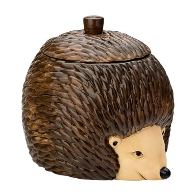 hedgehog cookie jar