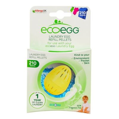 EcoEgg Eco Friendly Refill Washing Tablets 210 Washes in Fragrance Free
