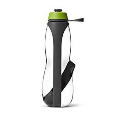Water Filter & Infuser Sports Gym Water Bottle Grey / Lime