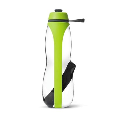 Water Filter & Infuser Sports Gym Water Bottle Lime