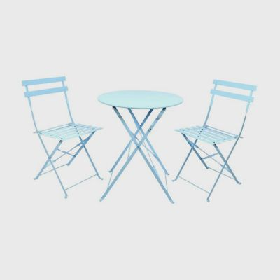 Blue Bistro Garden Table and Chair Set
