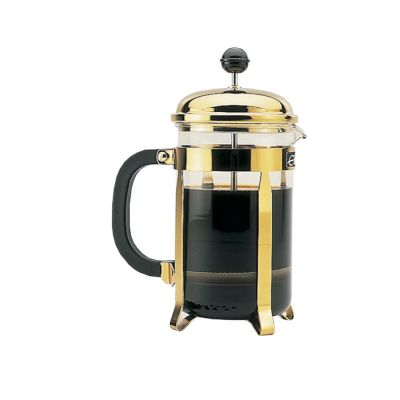 Gold 3 Cup Cafetiere Coffee and Tea Maker