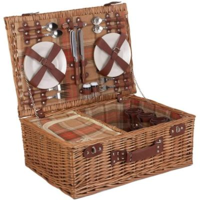 """21"""" Fitted Deluxe Picnic Hamper for 4 People"""