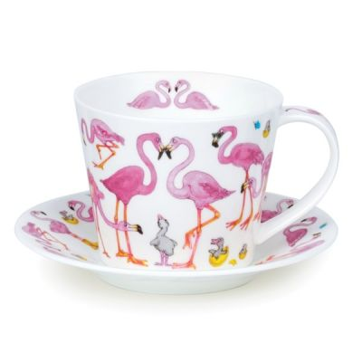Islay Wild Garden Flamboyance Cup and Saucer