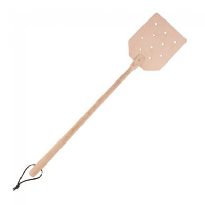 Wood & Leather Fly Swat