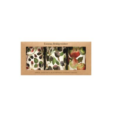 Fruits Tea Coffee Sugar Container Set from Emma Bridgewater