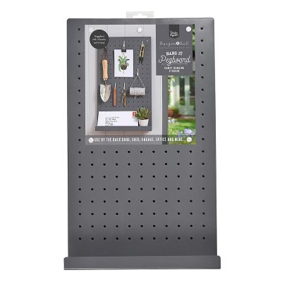 Pegboard for Shed or Garage in Charcoal