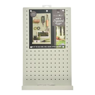 Pegboard for Shed or Garage in Sage Green
