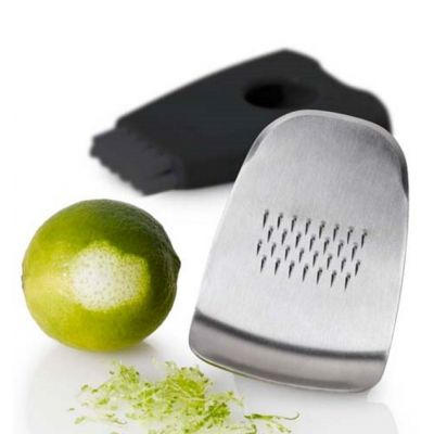Zenzero Ginger and Special Grater with Scraper and Integrated Brush