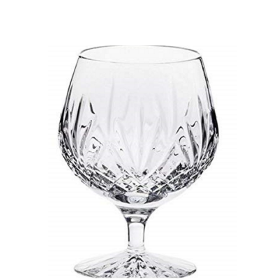 Hand Cut Crystal London Design Crystal Single 12oz Brandy Glass