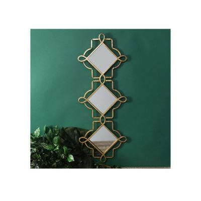 Gold Triple Wall Mirror from the Hestia Range