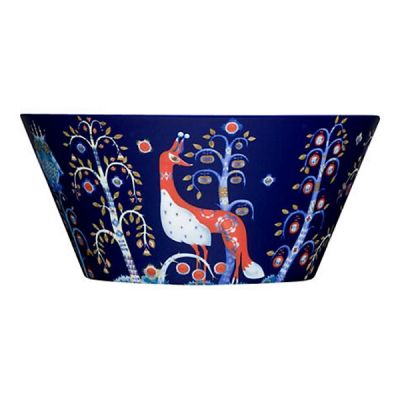 Taika Porcelain Small Bowl in Blue