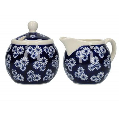 Daisy Design Out of the Blue Sugar and Creamer Set