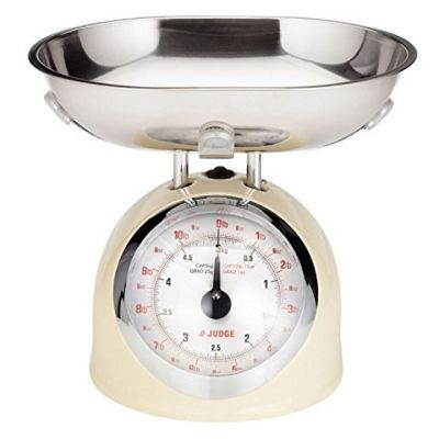 Traditional Kitchen Scales in Cream