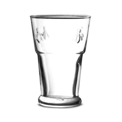 La Rochere Glass Beer Tumbler with Bee Design