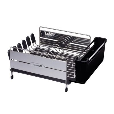 Deluxe Stainless Steel Dish Drainer