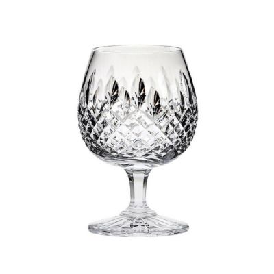 Hand Cut Design Brandy Glass