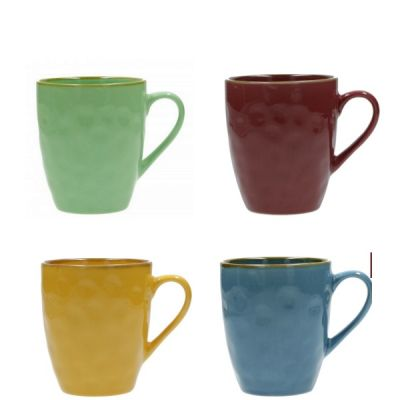 Set of 4 Concerto Coffee Tea Mugs Cup from Formahouse