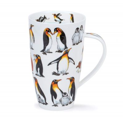Ice Pack Penguin Henley Mug Cup Fine China 600ml