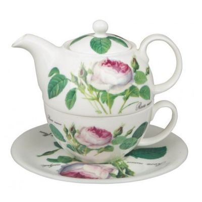 Redoute Rose Tea for One Set