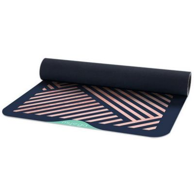 Vegan Suede Rubber Theseus Yoga Pilates Mat from Myga