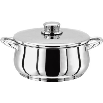 2 Litre Stainless Steel Casserole Pan