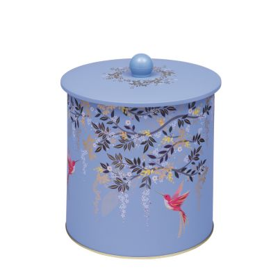 Blue/Violet Sara Miller Biscuit Tin London Chelsea