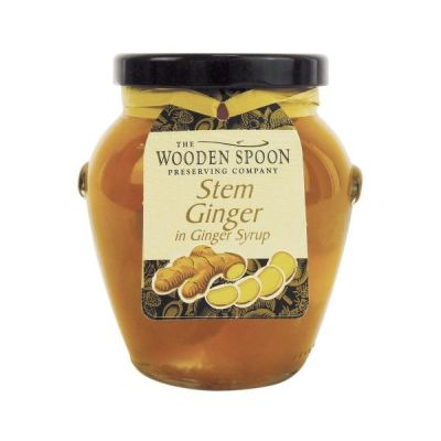 The Wooden Spoon Preserving Company Stem Ginger in Ginger Syrup, 395g