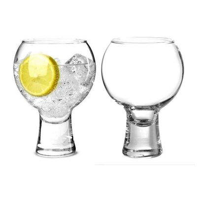 thick stem gin glasses