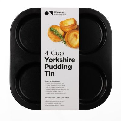 4 Cup Non-Stick Yorkshire Pudding Tray