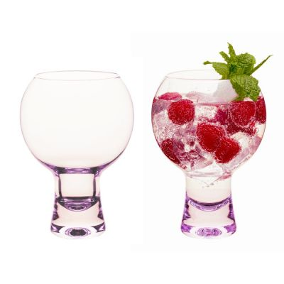 Pink Gin Glasses
