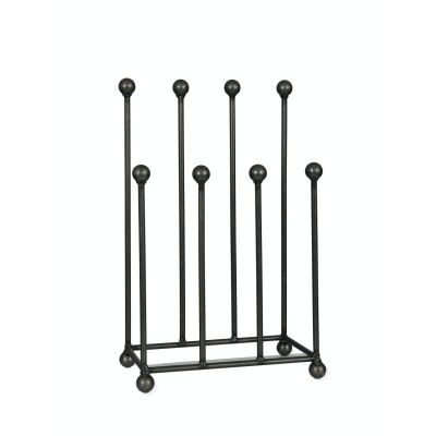 Welly Rack Stand in Steel, Holds 4 Pairs of Boots