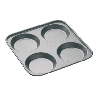 Yorkshire Pudding Tray, 4 Cup by Master Class
