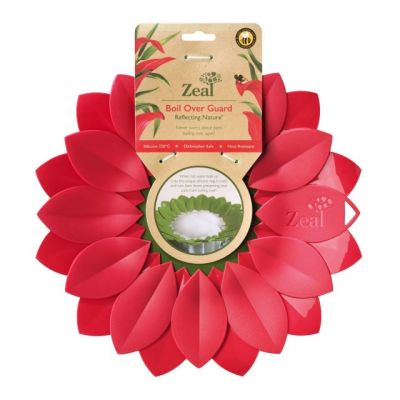 Zeal Reflecting Nature Large Boil Over Guard, Red Petal