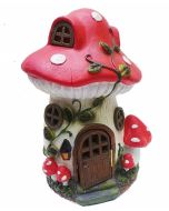 Solar Light Elvedon Patio Mushroom House Cottage