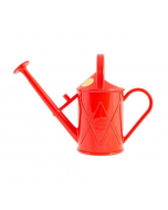 Haws Indoor Plastic Watering Can Red 2 Pint Bartley Burbler - 100-2-RED