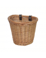Traditional Willow Oval Bike Cycle Basket