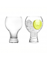 Stemless Gin Glasses - Set of 2 Sphere Design