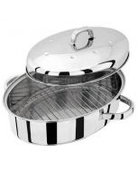 36cm High Oval Roaster with Self Basting Lid  Speciality