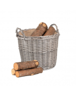 Grey Log Basket