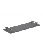 Rectangular Slate Cheese Board with Antler Styled Handles