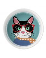 Perfect Pets Cool Cat Bowl Pet Collection Small 12.5cm x 3.5cm