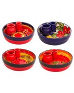 Olive Dip Dish Spanish Collection, Various Colours