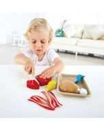 Early Learning Wooden Tasty Proteins Fish and Fleischset Play Set 3 years +
