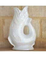 Mother of Pearl Gluggle Jug Pitcher X-Large