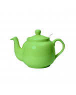 Green 6 Cup Traditional Farmhouse Filter Teapot