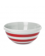 Red and White Stripe Mixing Bowl 20cm