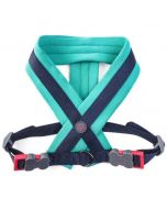 Uber-Activ Padded Dog Harness Navy & Green in Xtra Large
